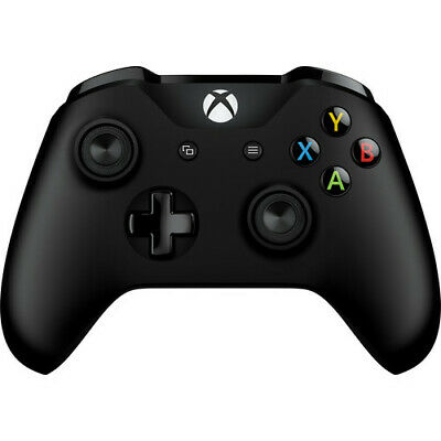 Microsoft Xbox One Wireless Controller (Black) Brand New Free Shipping