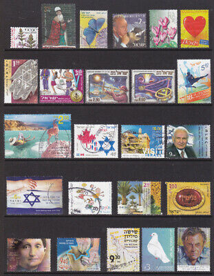 Israel used stamps 2001 - 2012