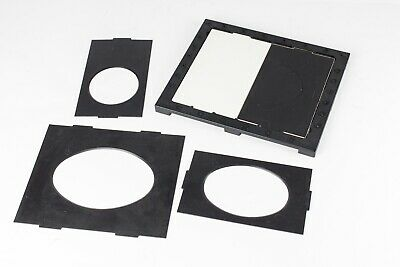 Multi Shape Photo Printing Easel. Oval/Circles. 10x8 Paper Size.