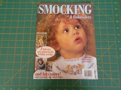 Australian Smocking & Embroidery Magazine - Issue No. 27 Summer - 1994 -