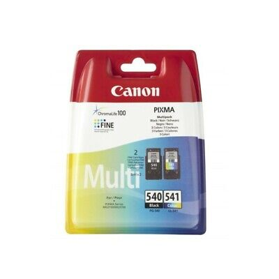 Ink Canon Pg-540/Cl-541 Nero E Colore Per Pixma Mg 2150/3150