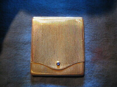 French Style Sterling Silver Match Safe Vesta Case