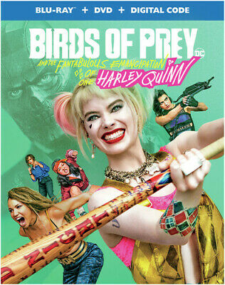 New Release Movies 2020 Dvd/Blu Ray Birds of Prey (And the Fantabulous Emancipat