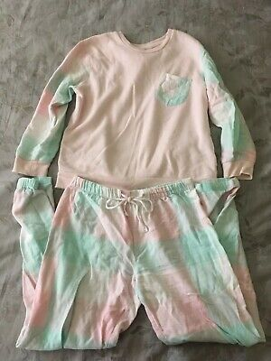Girls Peter Alexander Jnr PJs, Flanelette/Fleece Size 10