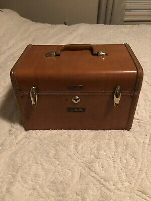 Vintage Samsonite Luggage #4612 Shwayder Bros.Train Travel Case Make Up Case