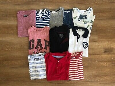 Boys size 10 short sleeved t-shirts and polos bulk lot in excellent condition