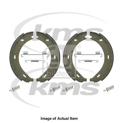 pack of two febi bilstein 31045 Brake Shoe Set for parking brake with additional parts
