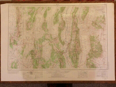 AMS / USGS Topo Map ELY Drawn 1956, Revised 1971 1:250,000