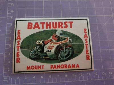 Mount Panorama Easter Bike Races Sticker 11cm x 9cm approx As per image