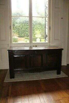 COUNTRY HOUSE SALE £1200 Large Georgian Antique Coffer,Trunk,Mule Chest,Oak,Wood