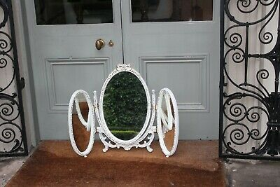 COUNTRY HOUSE SALE French Louis Freestanding Dressing Table Triple Mirror,Rococo