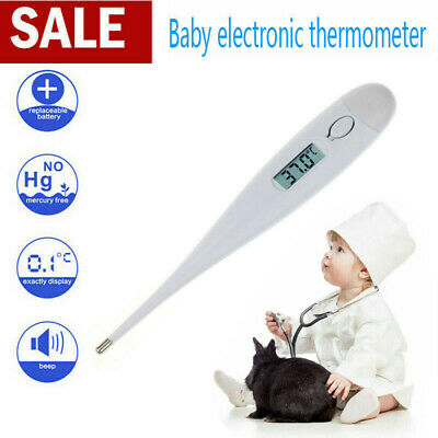 Electronic Baby Adult Safe Oral Thermometer Digital LCD Medical Thermometer UK
