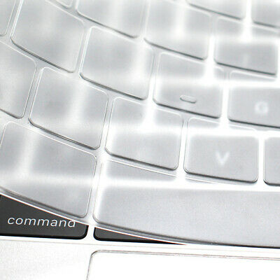 For MacBook Pro 16 Inch Laptop Keyboard Dustproof Film TPU Clear Silicone Cover