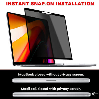 For MacBook Pro16 Inch Screen Protector Film Anti-Scratch Screen Peepproof Cover