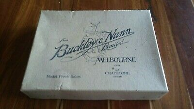 Buckley & Nunn Vintage 1960s Box With Osti Pink Size 12 Superslip with Tags