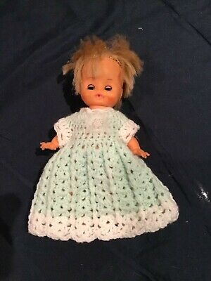 Hand crocheted  dolls clothes for 8 inch doll
