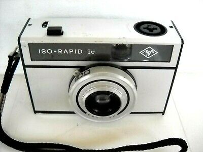 **1960`s AGFA ISO RAPID 1c 35mm FILM VIEWFINDER CAMERA IN VERY GOOD CONDITION**