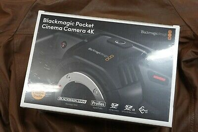 BRAND NEW SEALED BOX Blackmagic 4K Pocket Cinema Camera BNIB