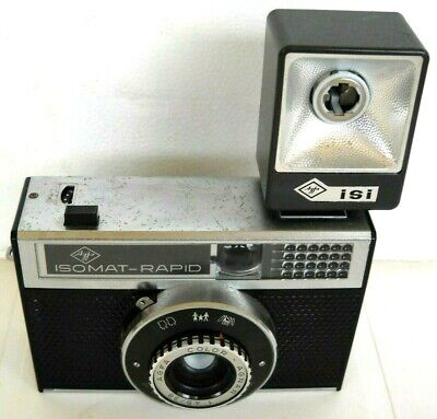 **1960`s AGFA ISO RAPID 35mm FILM VIEWFINDER CAMERA IN VERY GOOD CONDITION**