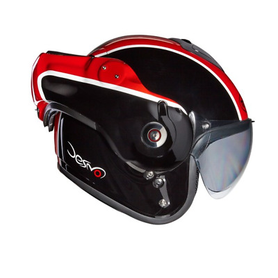 Roof Desmo Flash Black Red
