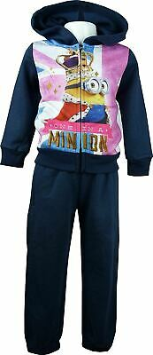 Despicable Me Minions Girls Tracksuit / Jogging Set Navy-3 Years / 98 cm