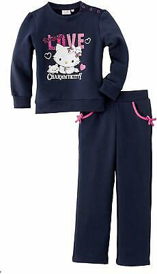 Girls Hello  Kitty  Charmmy KittyJogging Suit / Tracksuit Navy-6 Years