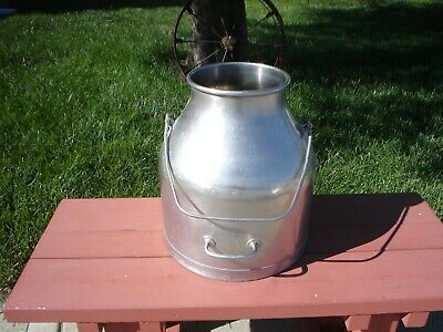 Vintage Delaval Stainless Steel Dairy Milking Machine Container Vgc
