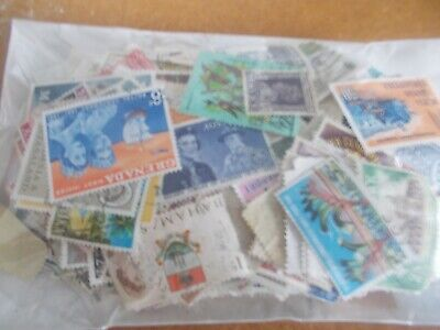 500+ British Commonwealth stamps - all off paper - only £2 start!