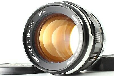 [ Near Mint ] CANON FL 55mm f/1.2 Manual Focus Prime Lens from Japan