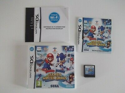 Mario & Sonic at the Olympic Winter Games (Nintendo DS) ..VGC...free postage