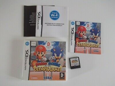 Mario & Sonic at the Olympic  Games (Nintendo DS) ..VGC...free postage