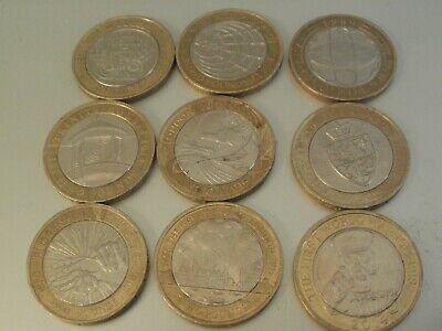 rare 2 pound coin job lot, Two Pound  Coin collectors, all different