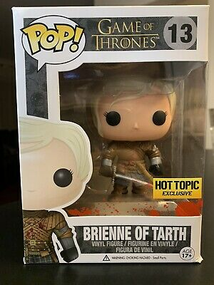Funko Pop! Game Of Thrones Brienne Of Tarth #13 (Bloody) Hot Topic Exclusive