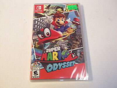 Super Mario Odyssey (Nintendo Switch, 2017) BRAND NEW FACTORY SEALED