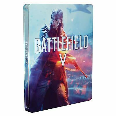 Battlefield 5 V Limited Steelbook PLAYSTATION 4 PS4 Case Box Set No Game New