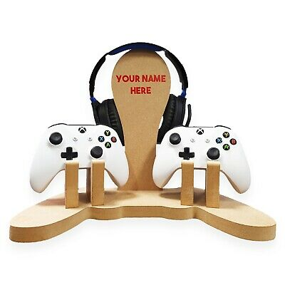 PS3 / PS4 / Xbox Controller Holder / Headset Holder - personalised