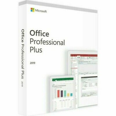 Microsoft Office 2019 Pro Plus 32/64bit License Key code Instant Delivery🚚