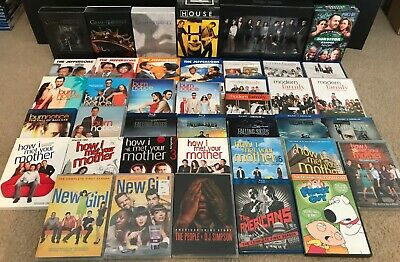 TV Show Blu-Ray & DVD Lot- 40 Shows & Some Complete Series Included!