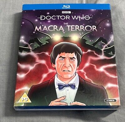 Doctor Who The Macra Terror [Blu-ray] New Sealed