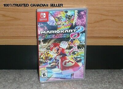 Nintendo SWITCH - MARIO KART 8 DELUXE (Brand NEW Sealed) Trusted Canadian Seller