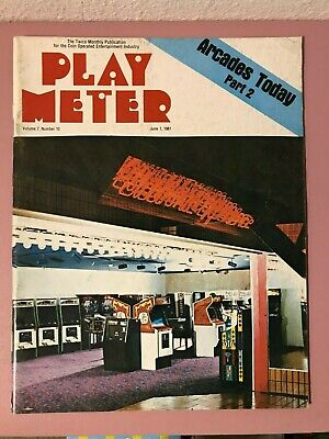 Play Meter Magazine June, 1981 w/ Roger Sharpe's Bally Eight Ball Deluxe Review