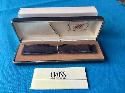 1980's Cross 14k Gold plated  Adjustable lead pencil, Boxed Original.