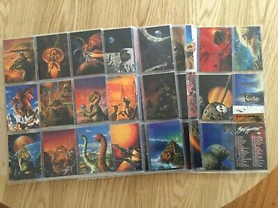 FANTASY ART OF BOB EGGLETON TRADING CARDS COMPLETE SET By FPG Issued YEAR 1995