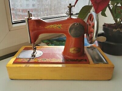 Vintage Children's sewing machine, a rare toy, the 70s-80s of the USSR