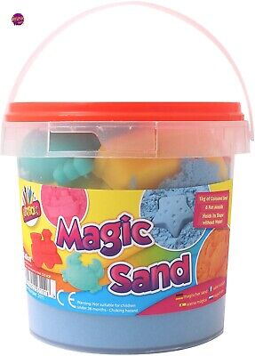 Ayush party Magic Sand With Tools In Carry Tub