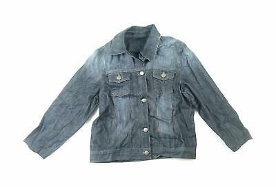 Next Girls Blue Plain Denim Jacket Age 11-12
