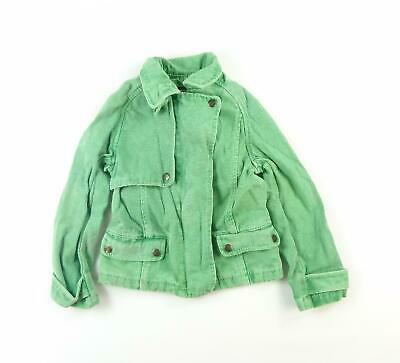 French Connection Girls Green Plain Denim Jacket Age 6