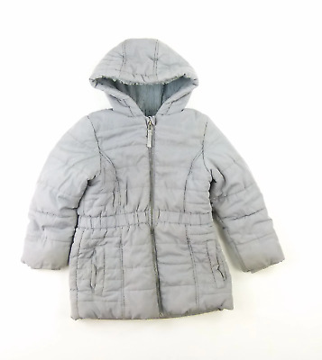 Marks & Spencer Girls Grey Plain Coat Age 5-6