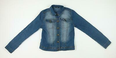 George Girls Blue Jacket Age 10-11