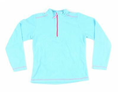 Crane Girls Blue Fleece Age 7-8